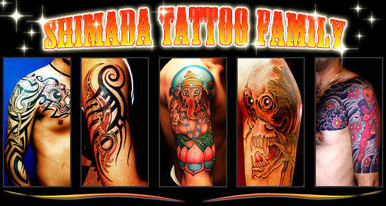 Welcome to SHIMADA TATTOO FAMILY`s website! Our tattoo studio is in Oizumi
